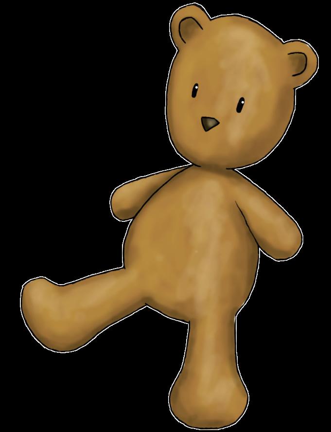 681x888 Teddy Bear Clip