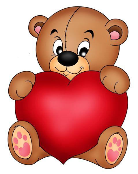 478x600 Teddy Bear Clipart Red