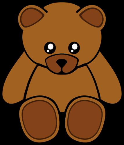 427x500 6377 Free Clipart Teddy Bear Outline Public Domain Vectors