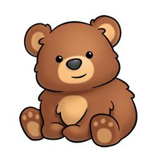220x220 Teddy Bear Clip Art