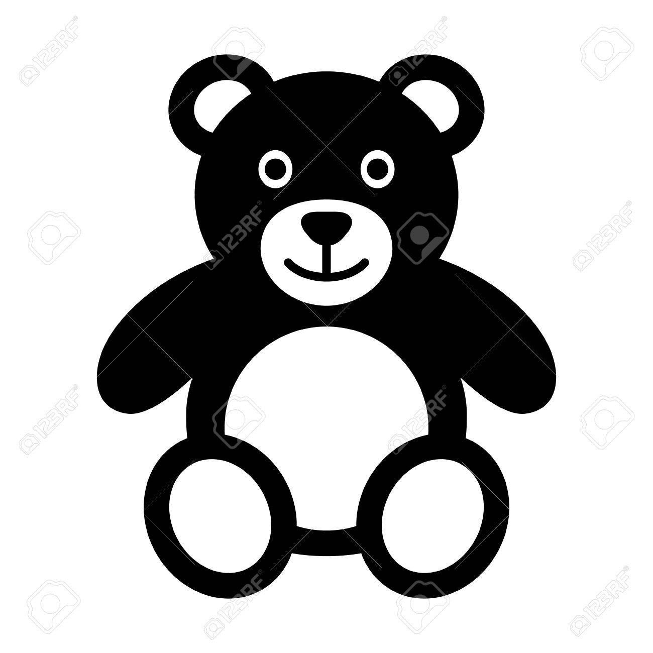 1300x1300 Teddy Bear Plush Toy Flat Icon For Apps And Websites Royalty Free
