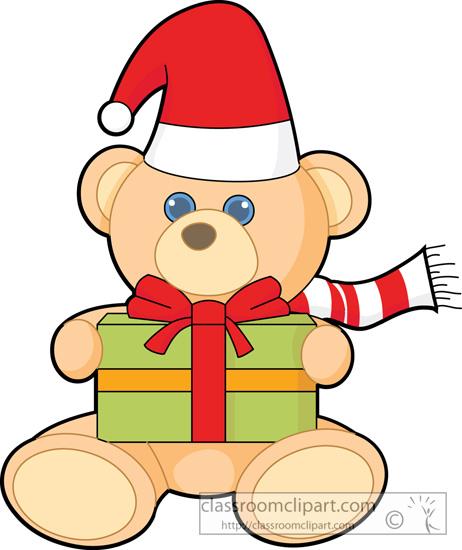 462x550 Christmas Clipart Teddy Bear