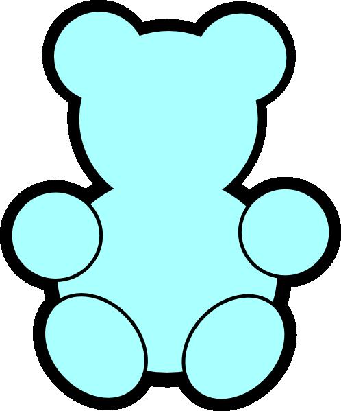 498x599 Teddy Bear Clipart Silhouette
