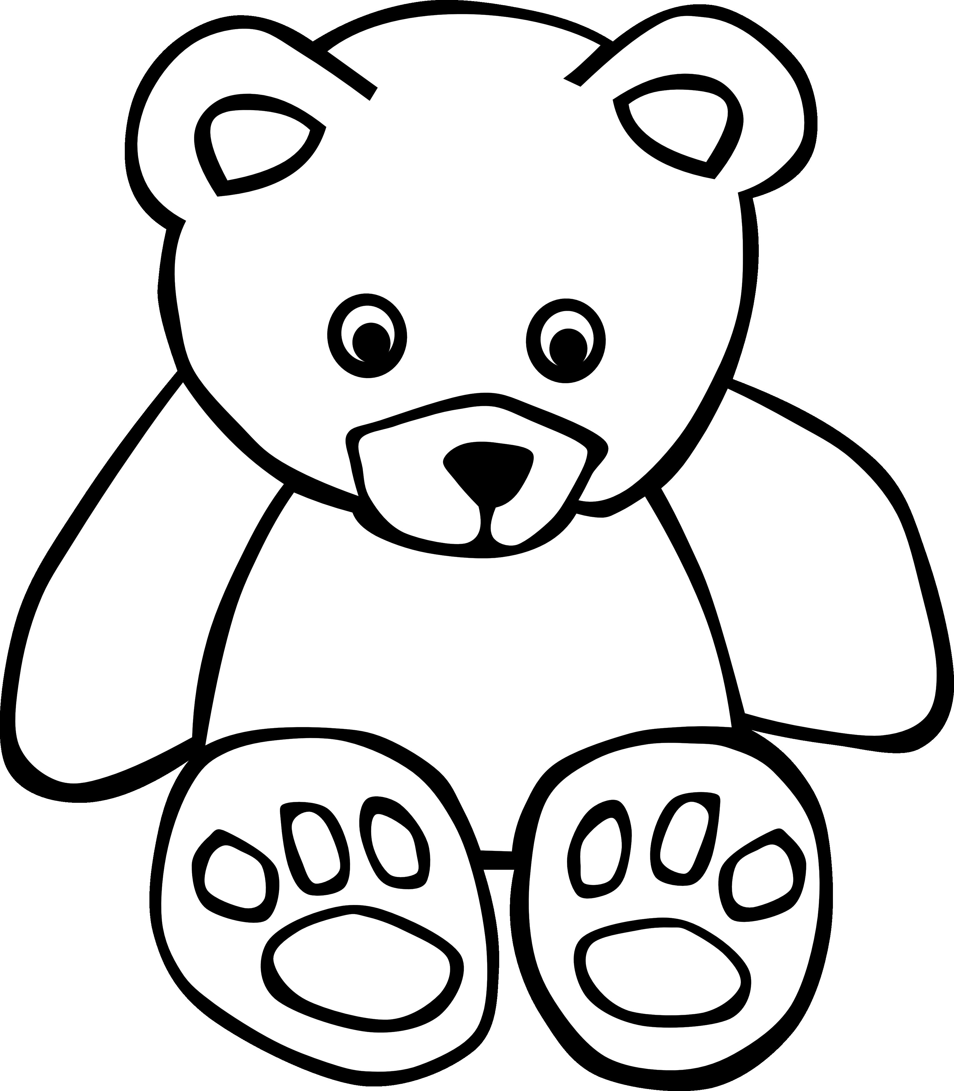 3333x3812 Teddy Bear Clip Art Srimulyo