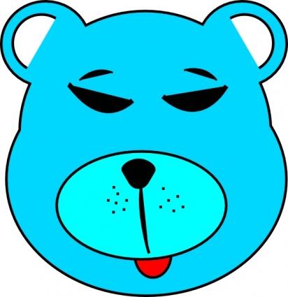 412x425 Blue Teddy Bear Clipart Blue Bear Clip