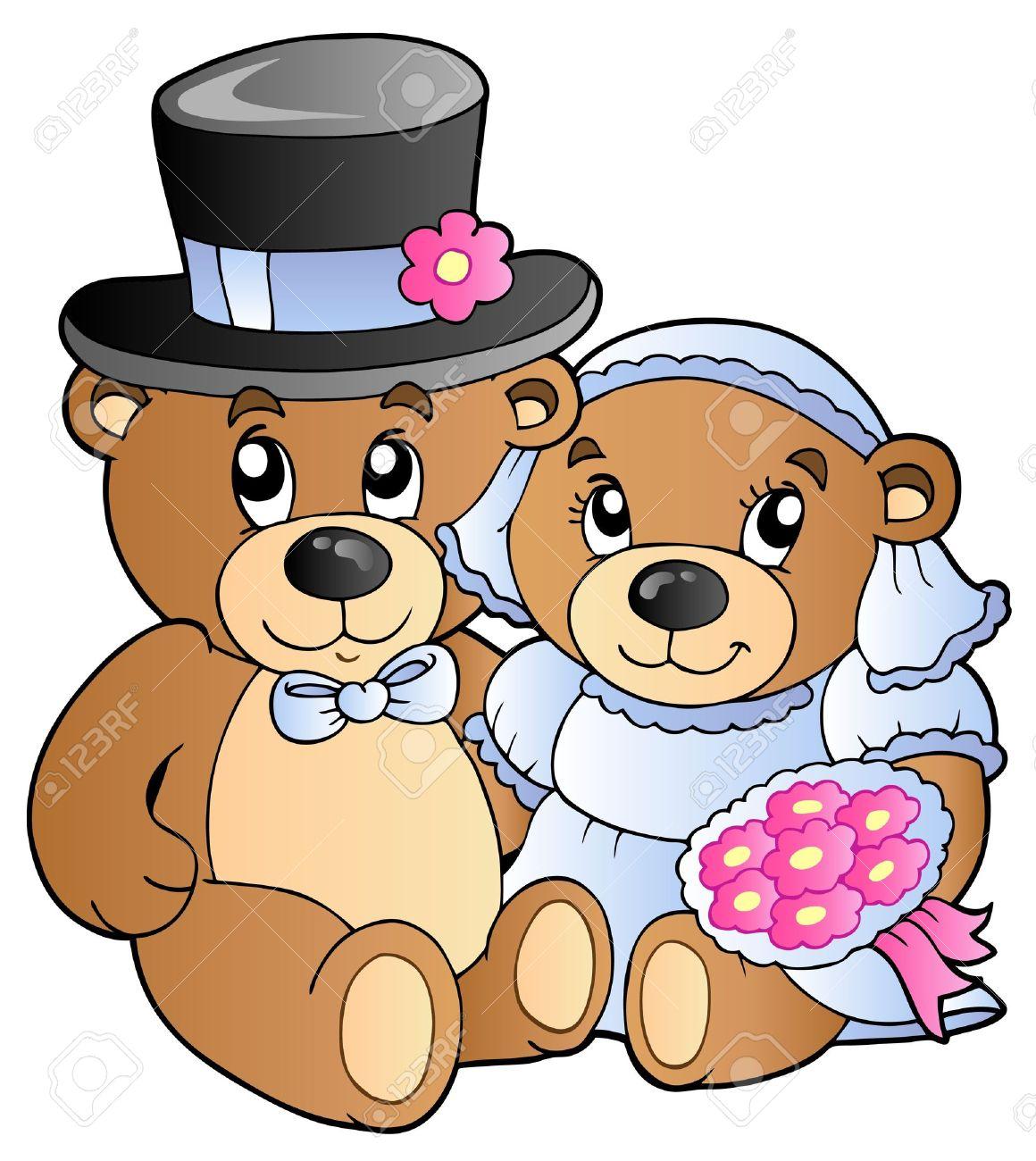 1160x1300 Bear Clipart Wedding