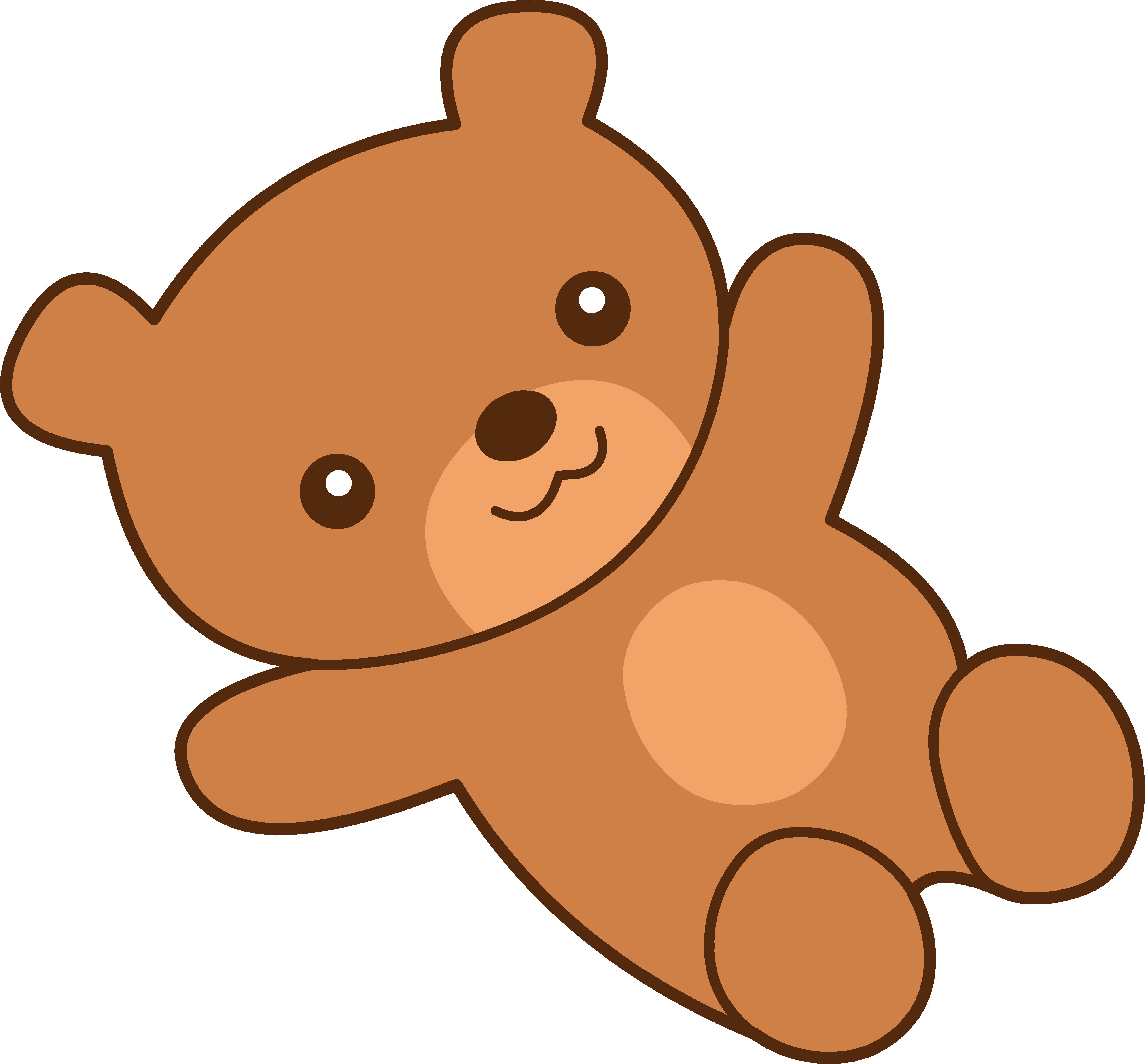 5120x4760 Free Teddy Bear Clipart