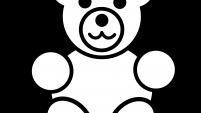 201x113 Teddy Bear Clip Art Free