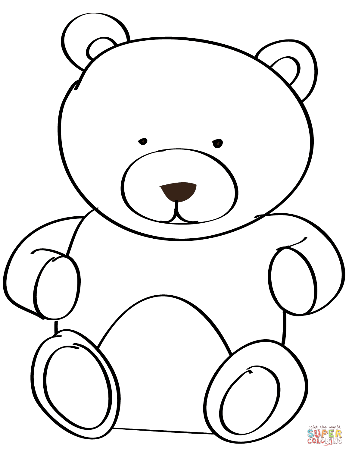 1159x1500 Teddy Bear Coloring Pages Free Coloring Pages