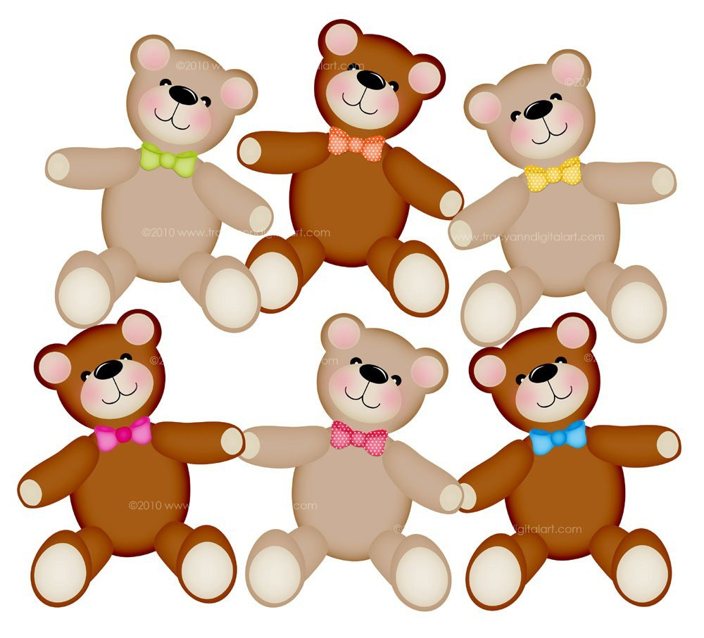 1000x907 Cartoon Teddy Bear Picnic
