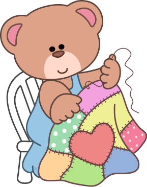 289x366 Teddy Bear Clipart Sewing