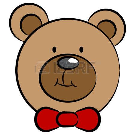 450x450 Bear Face Clipart
