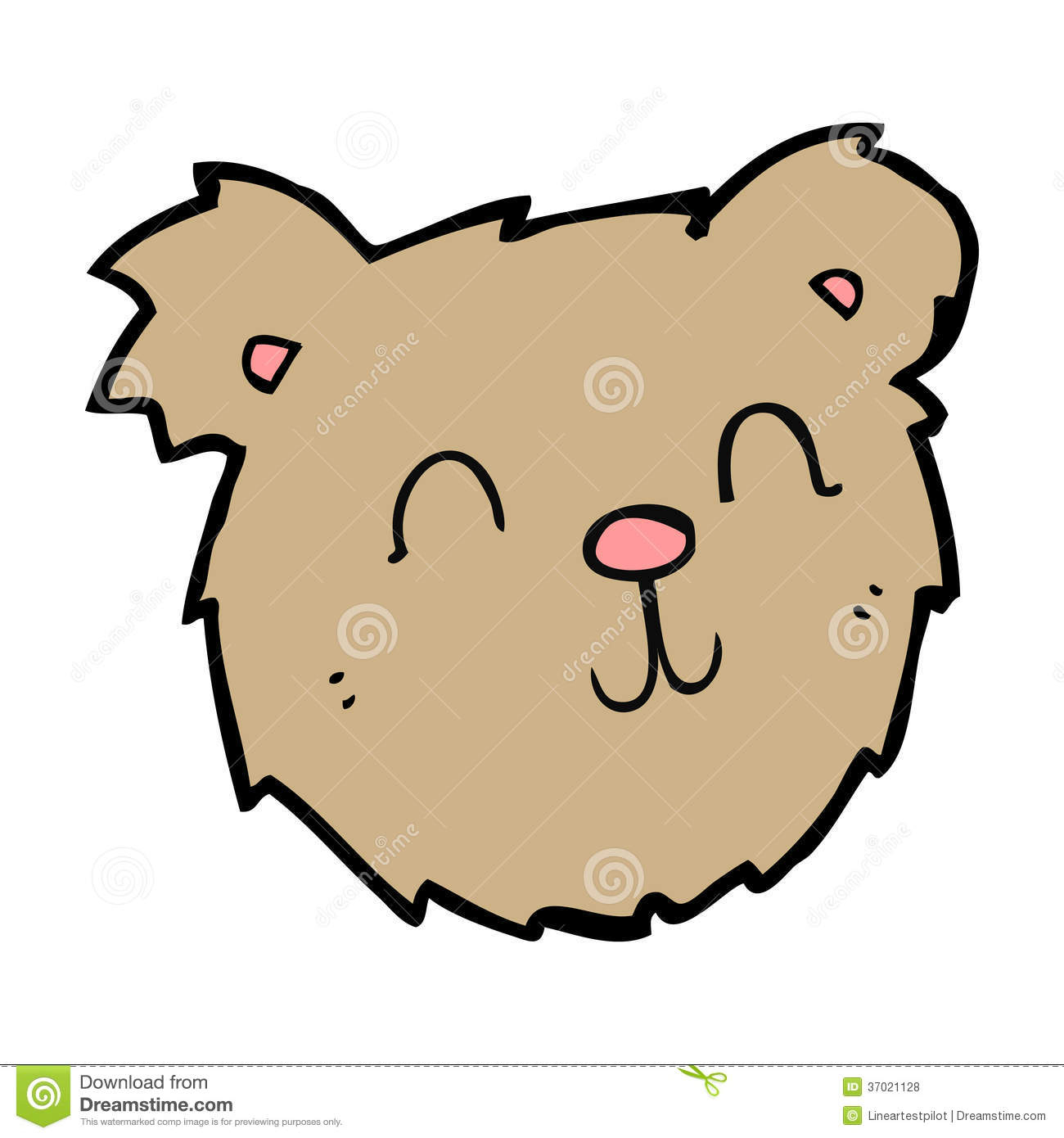 1300x1390 Drawing Teddy Bear Face Bear Face Outline Drawing Free Clipart