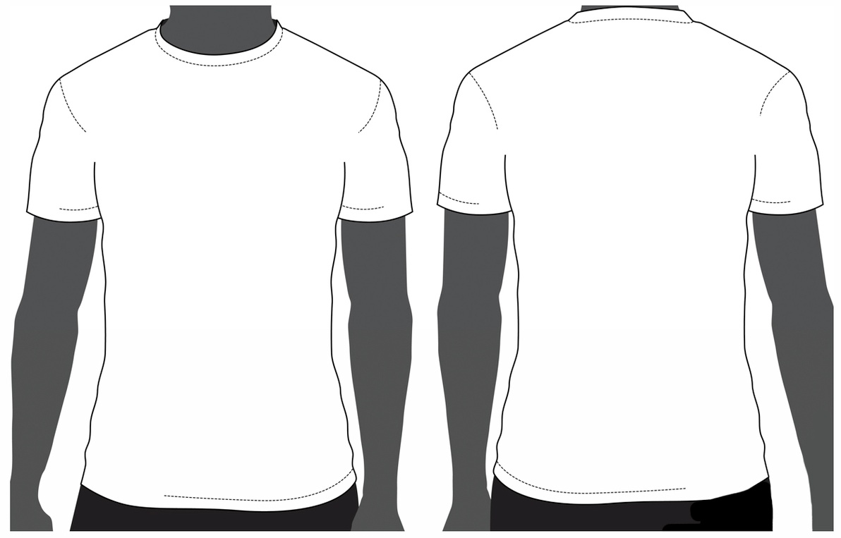 Tee Shirts Outline | Free download on ClipArtMag