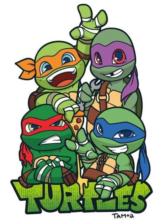 Teenage Mutant Ninja Turtles Clipart