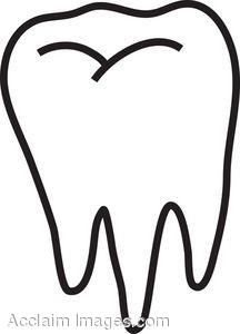 216x300 Tooth. Description Clip art Clipart Panda