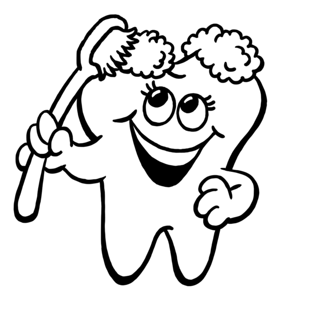 Teeth Clipart Black And White | Free download best Teeth Clipart ...