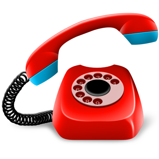 512x512 Phone Clipart Red Telephone
