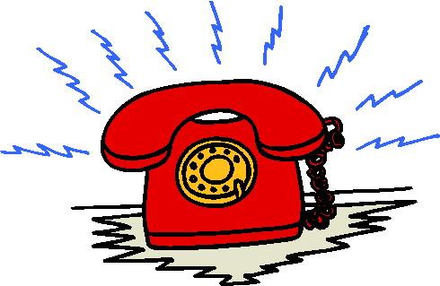 490x319 Red Telephone Clip Art