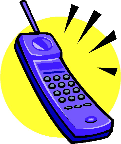 490x582 Telephone Clip Art 9