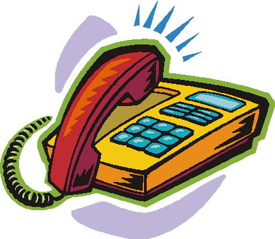 399x347 Telephone Clip Art Free Clipart Images 8