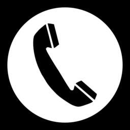256x256 Telephone Clip Art Phone Clipart Image