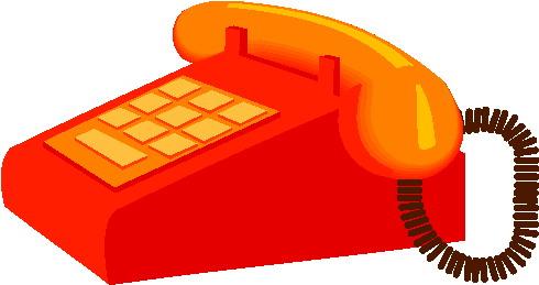 490x259 Telephone Clip Art Phone Clipart Image
