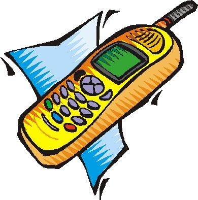 390x394 Telephone Clip Art Phone Clipart Image 6 2