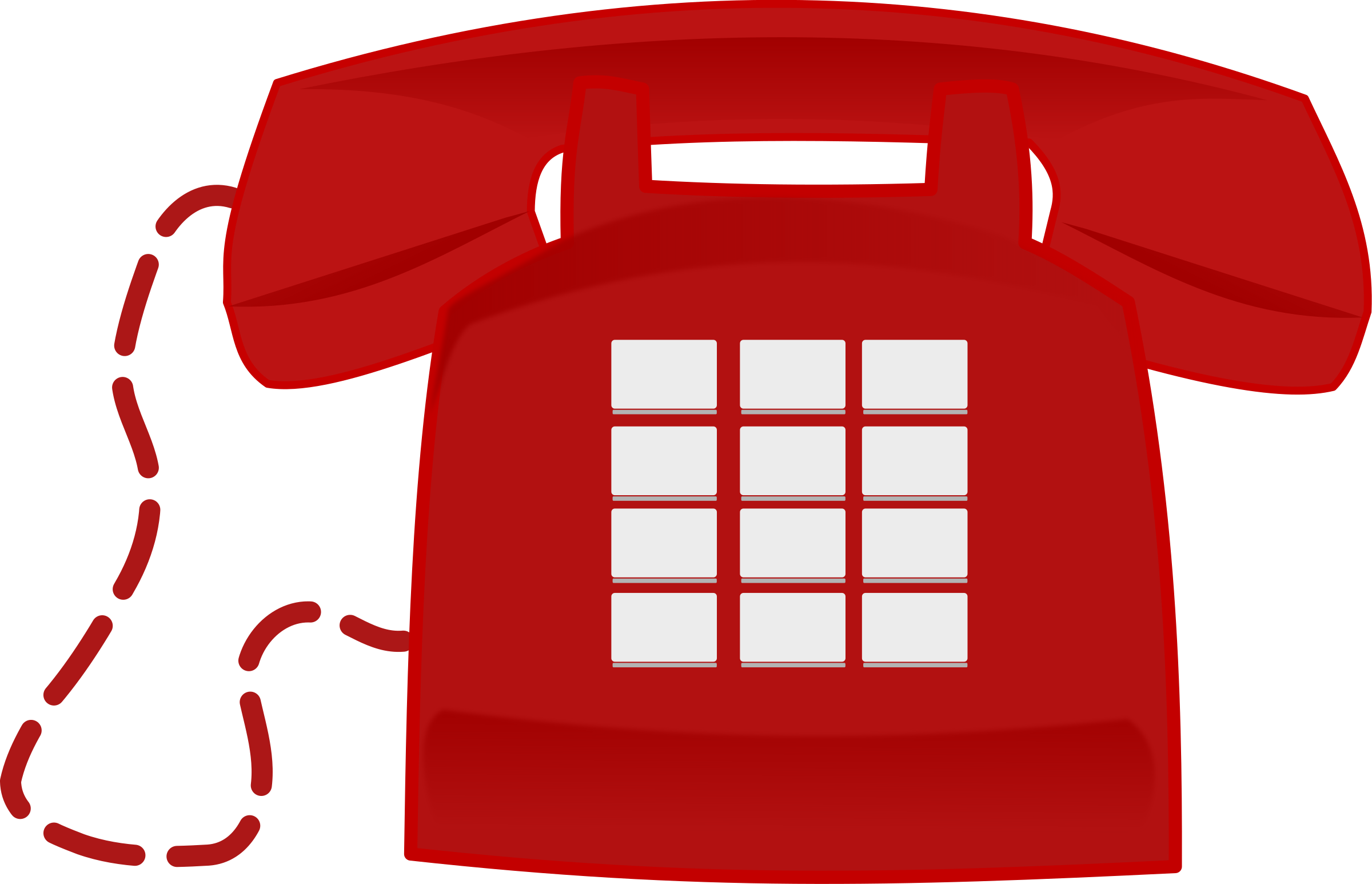 2400x1546 Telephone Clipart Red Telephone