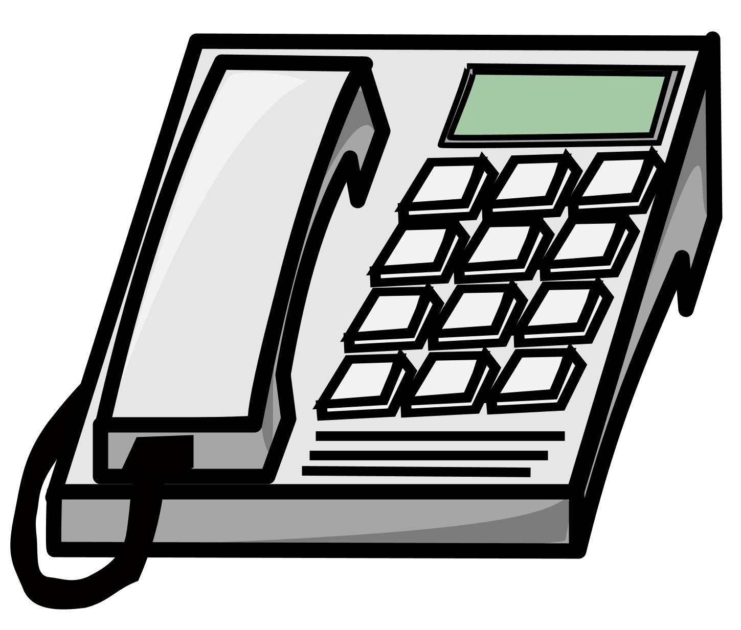 1449x1233 Phone Clipart Telephone