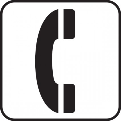 425x425 Telephone Symbol Clip Art Free Vector For Free Download About