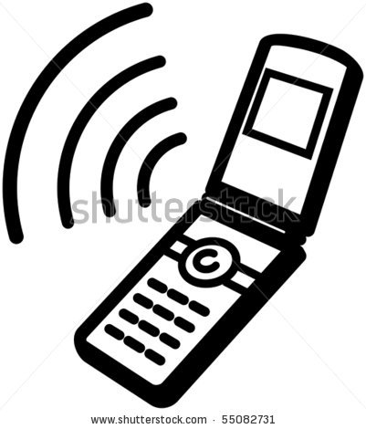 401x470 Mobile Phone Clipart Free