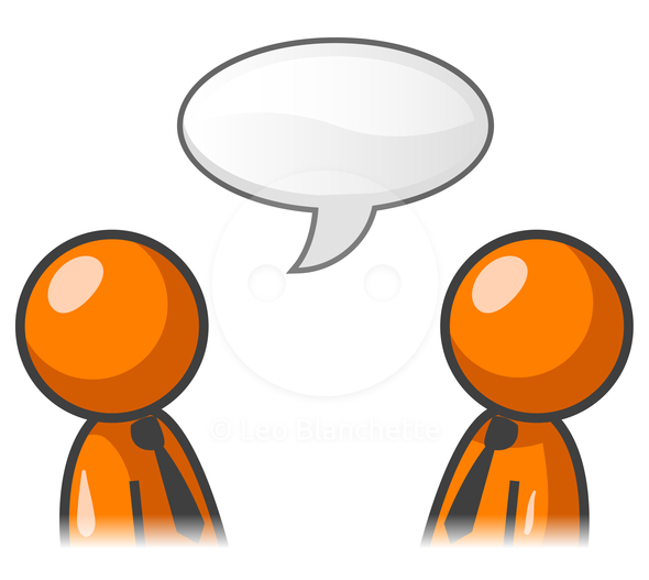 590x527 Someone Talking Clipart