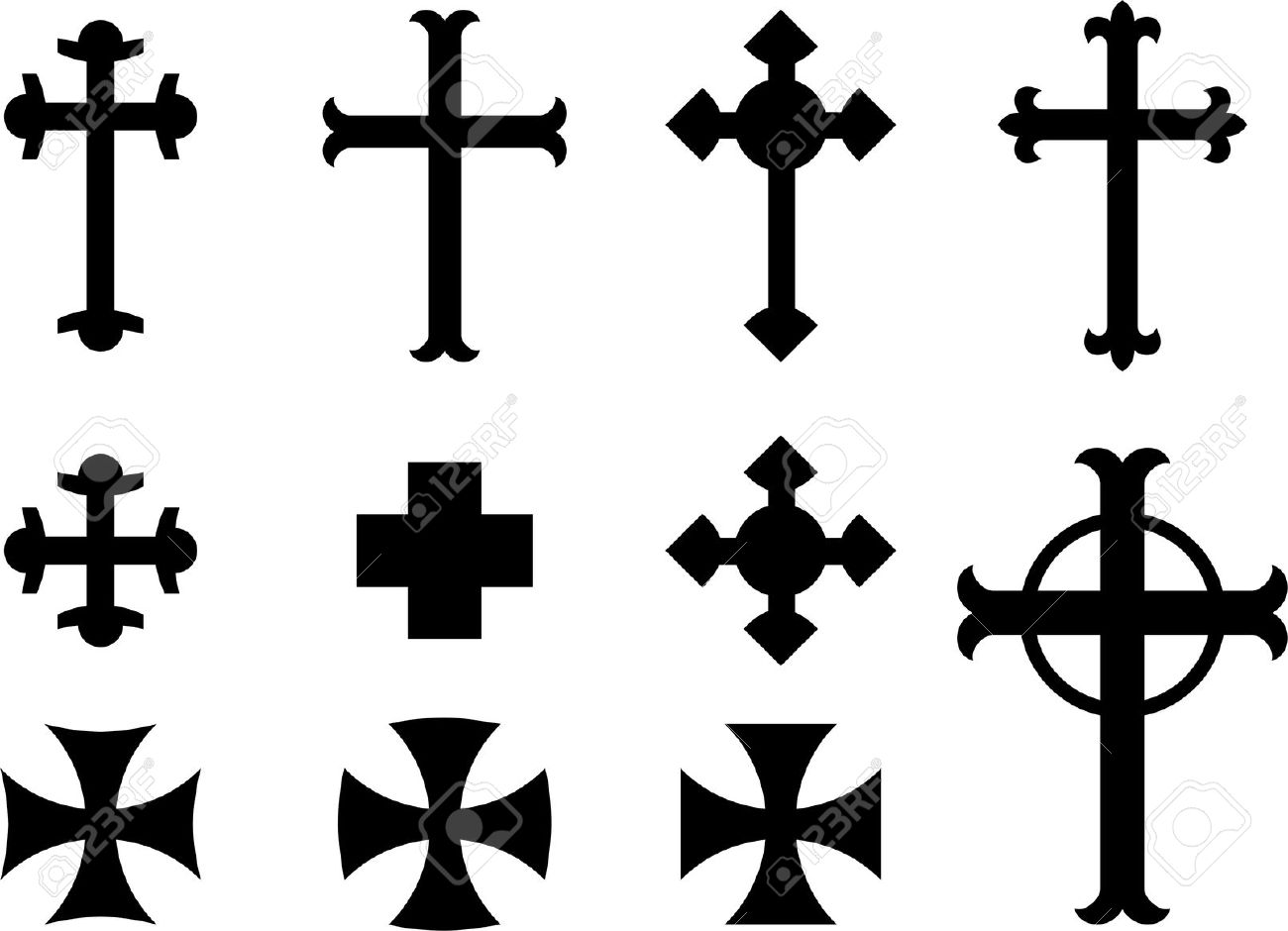Templar cross tattoo clipart free download best templar cross 1300x940 christian cross designs clip art buycottarizona