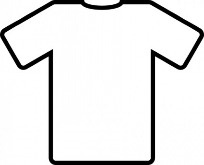 820x663 White T Shirt Clip Art Free Vector In Open Office Drawing Svg