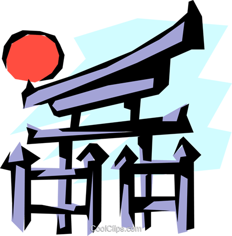 472x480 Japanese Clipart Japanese Temple