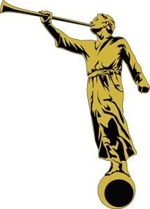 215x300 Temple Clipart Angel Moroni