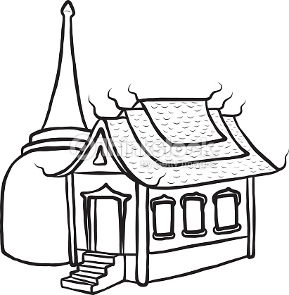 411x419 Temple Clipart Cartoon