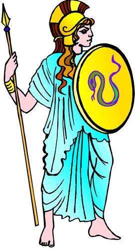271x500 Temple Clipart Greek Mythology