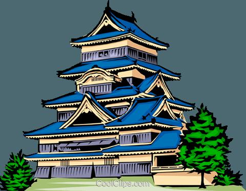 480x373 Temple Clipart Japanese Temple