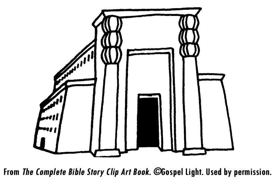900x600 Temple Clipart Solomons