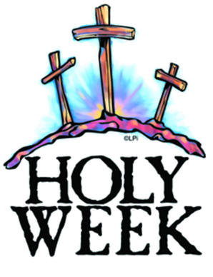 298x388 Holy Week Service Schedule