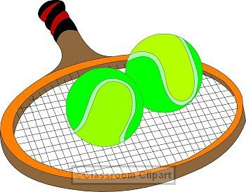 350x273 Nice Tennis Racket Clip Art