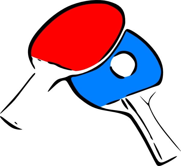 600x549 Table Tennis Clip Art Free Vector In Open Office Drawing Svg