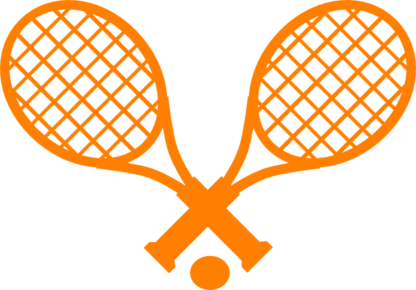 600x418 Tennis Racket Clip Art