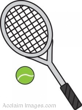 280x375 Tennis Racket Clipart