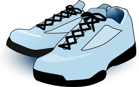548x344 Tennis Shoes Clip Art Free Vector In Open Office Drawing Svg