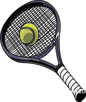 295x350 Tennis Ball And Racket Clip Art Free Clipart Images