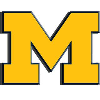 320x320 University Of Michigan Emblem Clip Art Tennessee Vs. Michigan