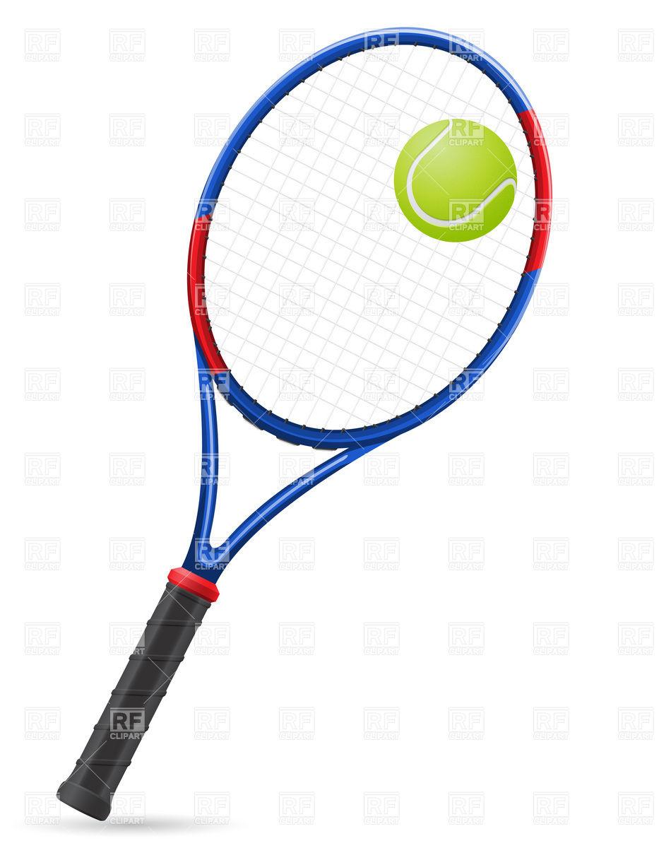 933x1200 Free Tennis Racket Clipart Image